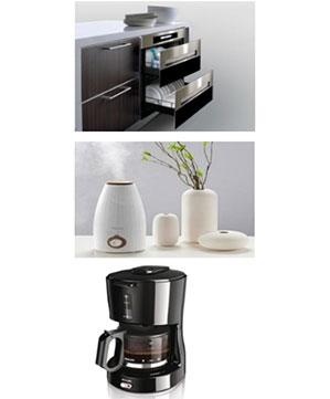 加湿器、消毒柜及咖啡壶